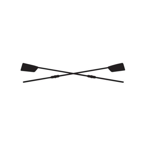 Naljepnica s veslačkim motivom vesla, za čamac, auto